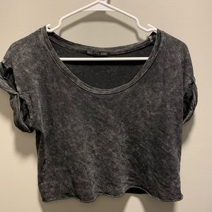 Urban Outfitters Acid Wash Crop Top